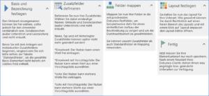 Screenshot Unterartenverwaltung